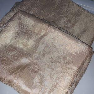 3/$30 2 light filtering curtain panels